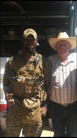 Cliven Bundy with Black Friend