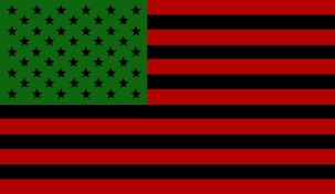 red black and green flag