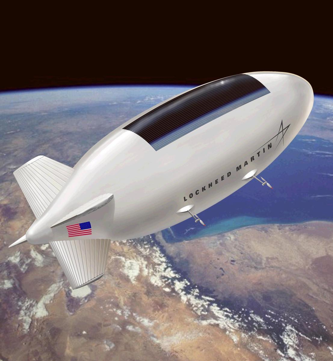 DARPA's ISIS - Integrated Sensor is Structure [Surveillance Airship]