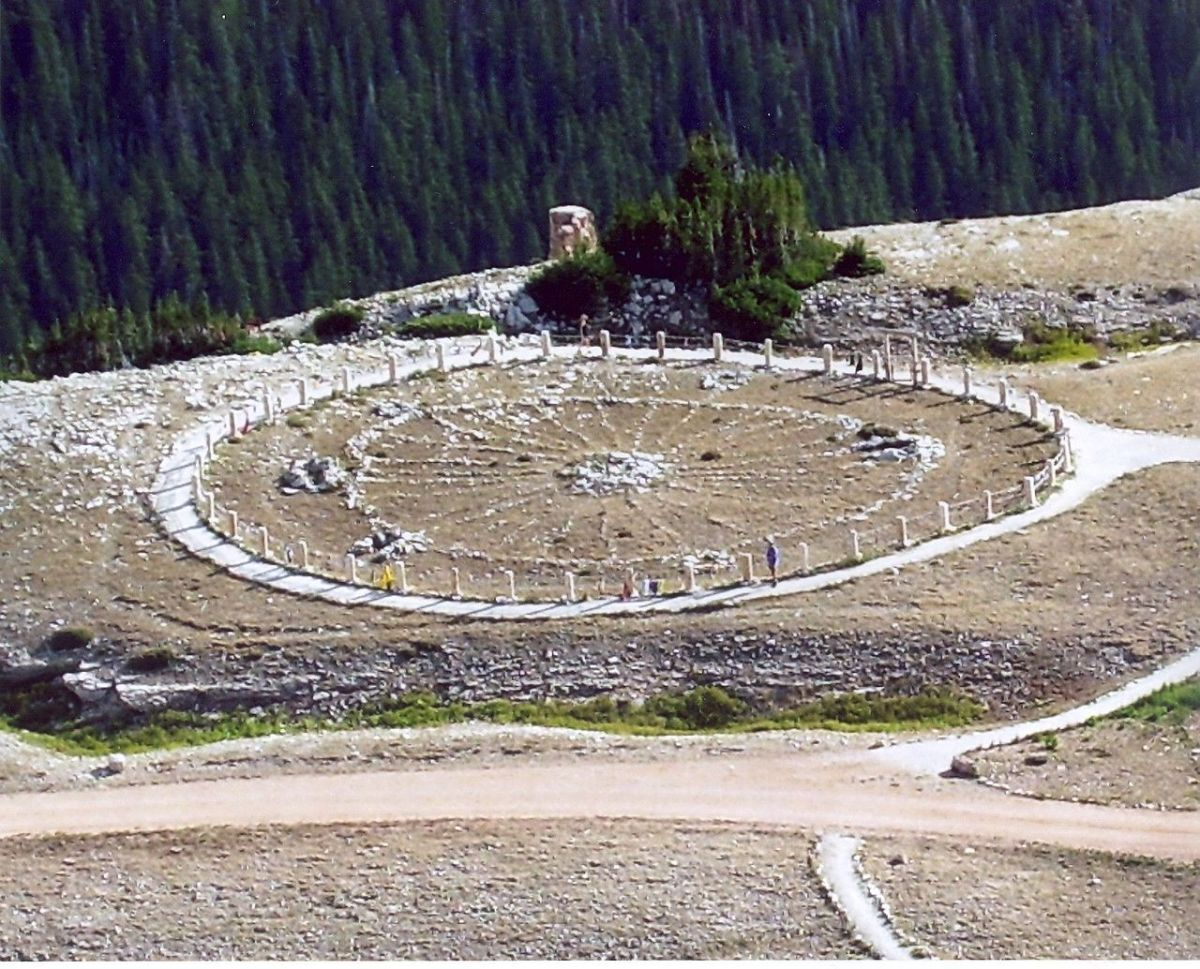 Bighorn Medicine Wheel, Wyoming, United States of America