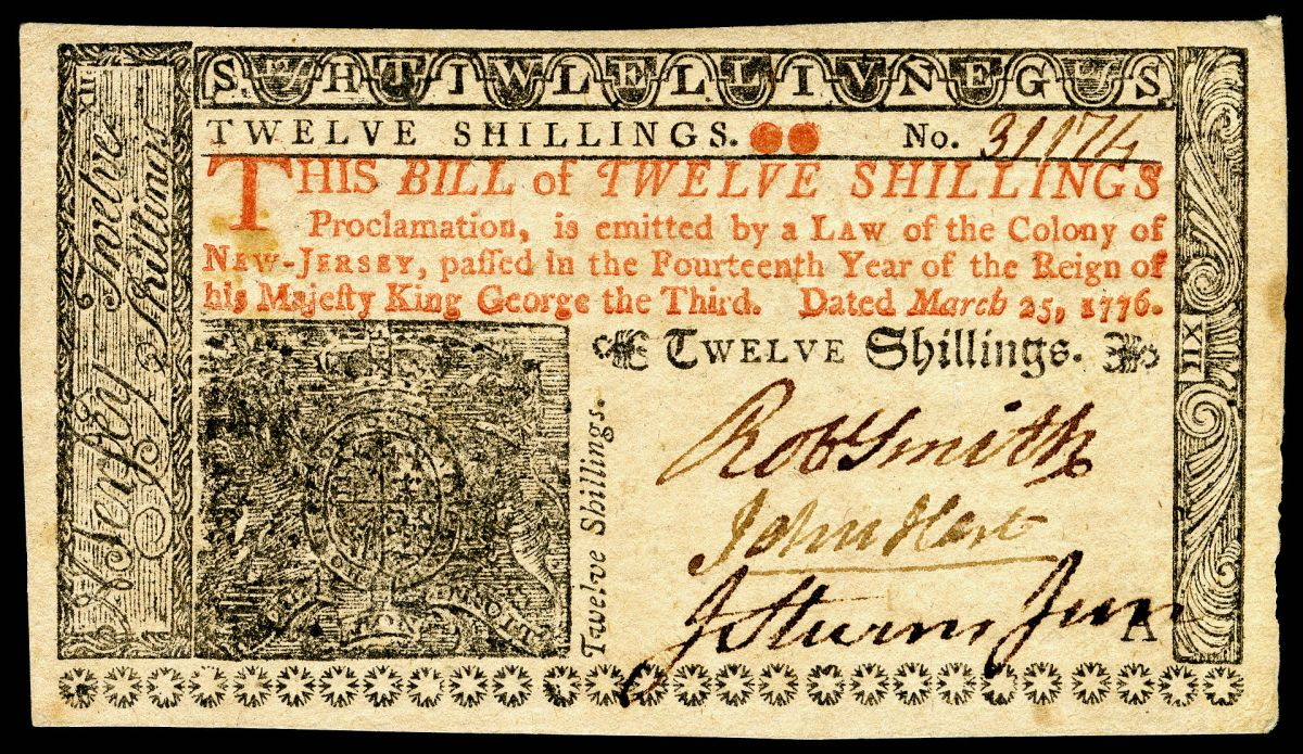 Colonial Scrip | Paper Money backed by Land
