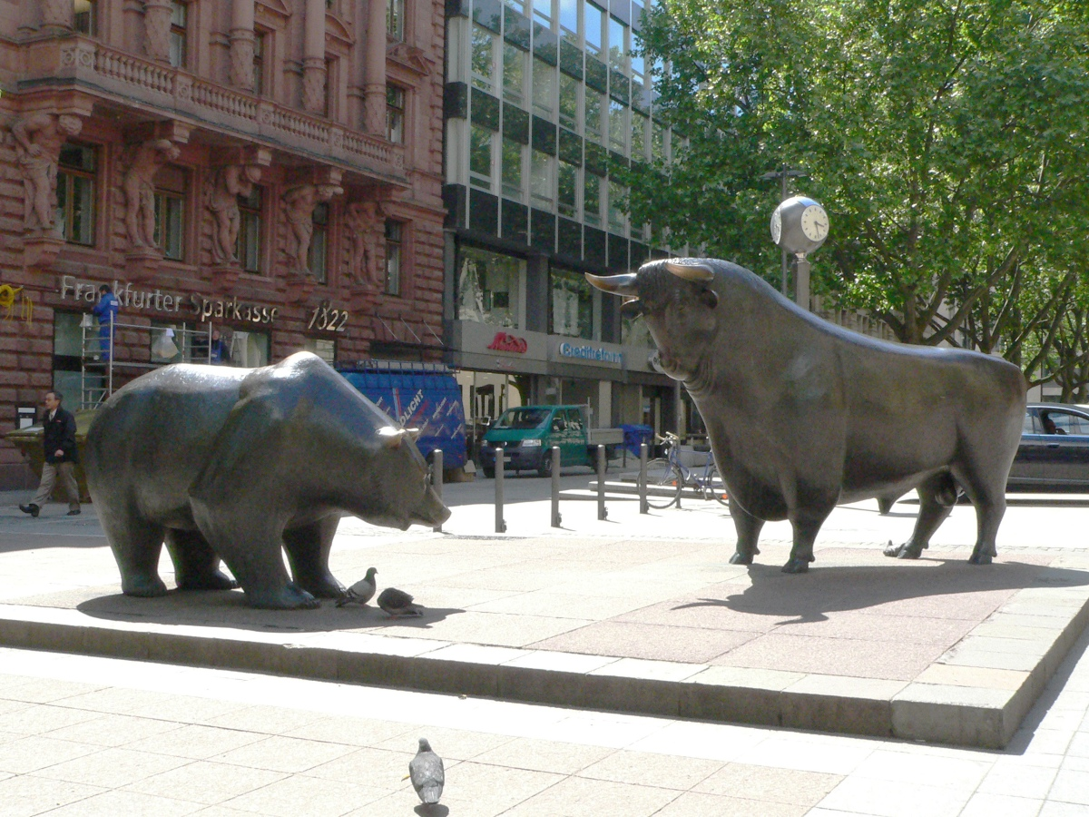 Wall Street, NYSE, the Bull and the Bear