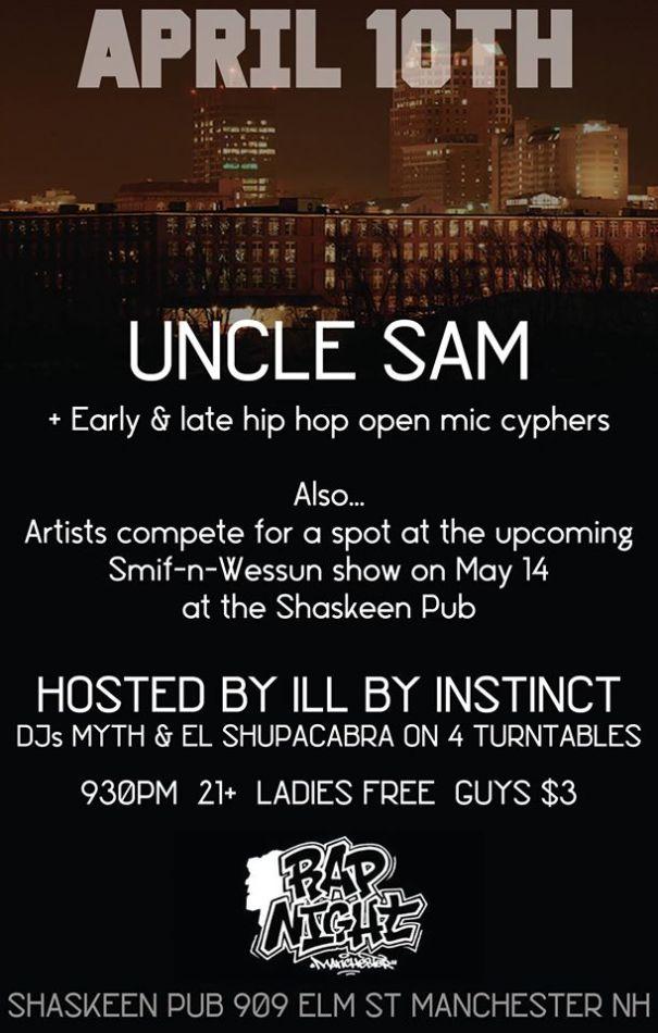 4-10-16 rap night contest