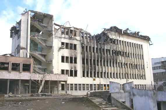 Kosovo CM damage